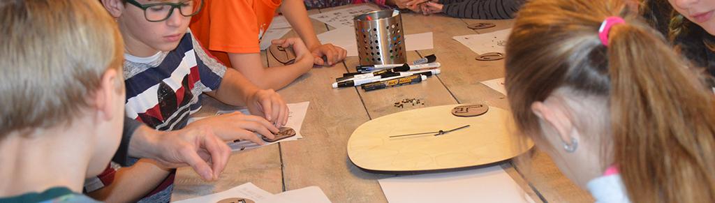 Laserbeest workshop klok
