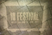 Reverse graffiti mal voor festival