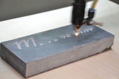 Marmer gravure