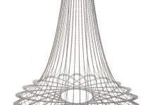 Frame voor designlamp