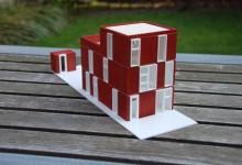 Maquette woongebouw