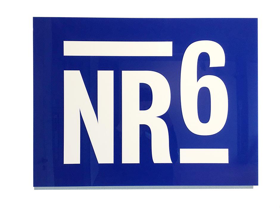 NR 6 Laserbeest logo lasersnijden
