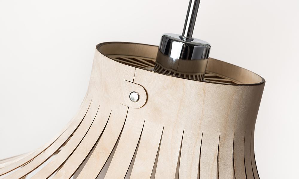Lasersnijden hout Laserbeest lamp LION