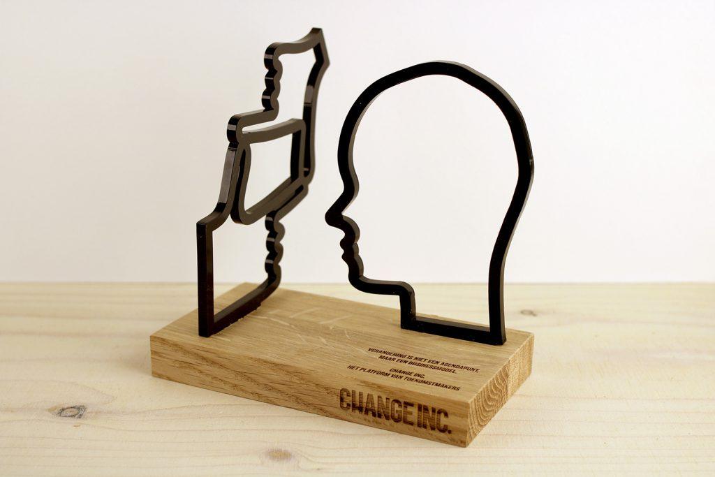 Laserbeest Award voor Change Inc.