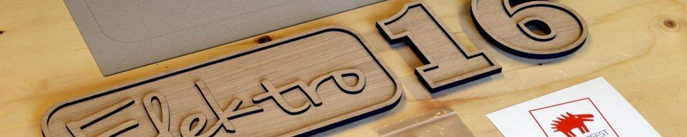 Logo lasersnijden