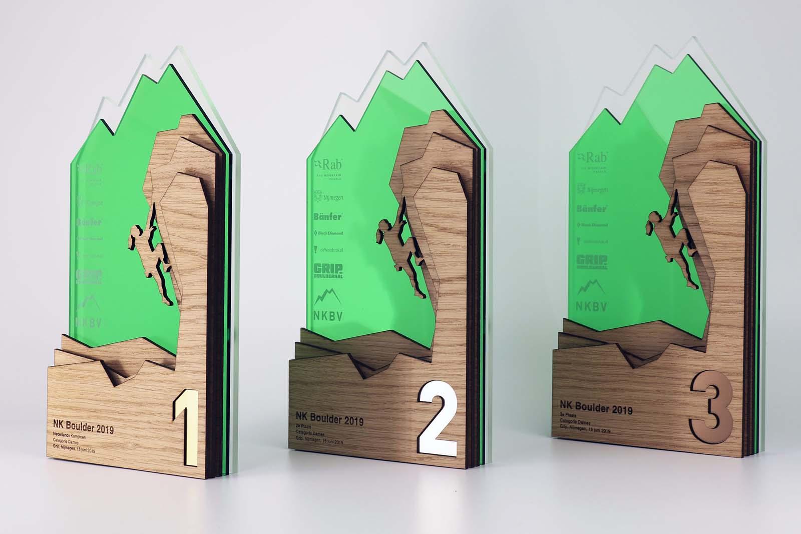Laserbeest award voor NKBV