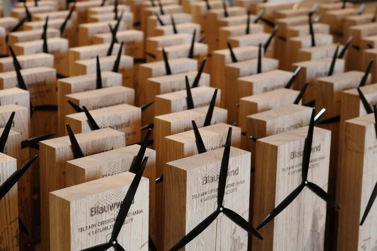 Laserbeest award Van Oord windmolenpark